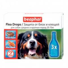 Капли для собак средних и крупных пород 3 шт Beaphar