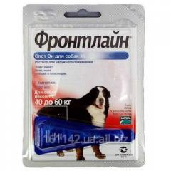 Капли Frontline для собак 40-60 кг