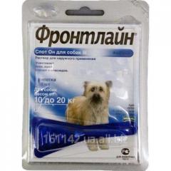 Капли Frontline для собак на 10-20 кг