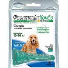 Капли Frontline КОМБО для собак 10-20 кг