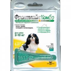 Капли Frontline КОМБО для собак 2-10 кг