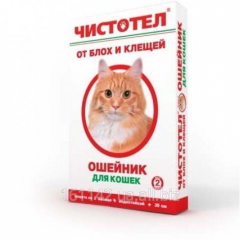 Ошейник Коробка для кошек Чистотел