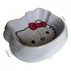 Миска меламин для котов Hello Kitty 300 мл