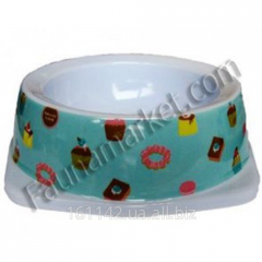 Bowl melamine for cats and dogs of 150 ml