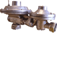 RTG gas pressure regulator