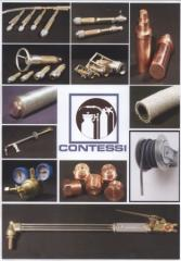 Equipment for manual and machine gas-oxygen