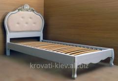 """Кровать """"Принцесса"""" для девочки из массива"""