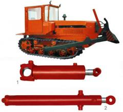 Hydraulic cylinders for bulldozers, the Bulldozer
