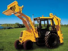 The excavator bulldozer, for BOREKS 2202/direct