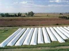 Grain bags, sleeves for grain storage,