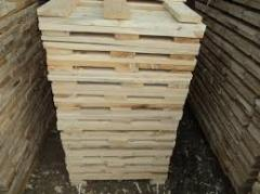 Pallet preparation from pine across Ukraine and