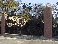 Gate shod handwork