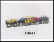 Машинка пластмассовая артикул CJ-0866070