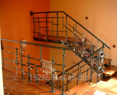 The handrail forged for ladders