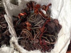 Bräckjärn och avfall av färgmetaller