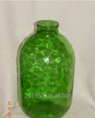 Large bottle of CKO I-82 of glass green 10 l