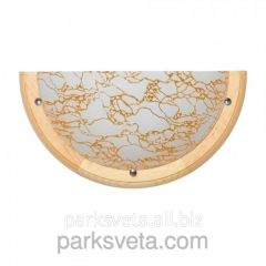 Sconce pine gold 27191 Modernist style
