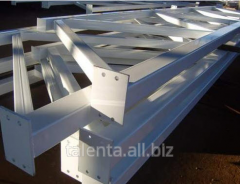 Welded beams and columns