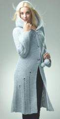 Пальто женское вязанное, 0183, товар от