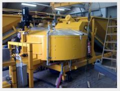 Special concrete plant for installation in the