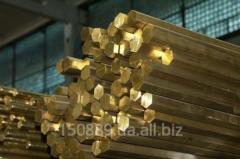 Brass hexagon of S8-S60 of brand: L63, LS59-1