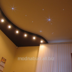 Stretch ceiling - system the Star sky