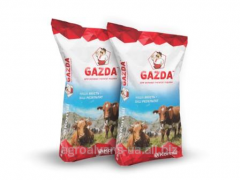 Food supplements in forage of cattle, Gazd's