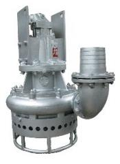 Submersible slurry hydraulic pumps of Toyo of the