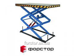 Производство гидравлических грузовых подъемников Форстор