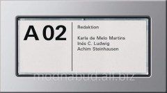 Index LED plate