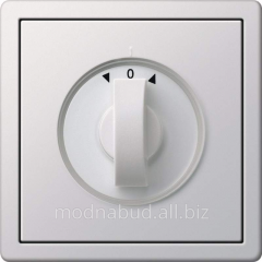 Management of blinds by means of the rotary switch