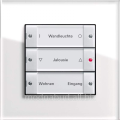 Management of blinds on Instabus KNX/EIB channel