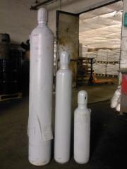 Шестифтористая сера SF6,  балон 20 кг