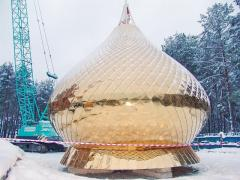 Production of domes for temples