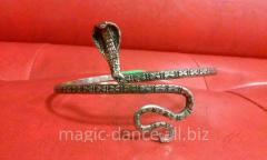Bracelet on forearm for dances