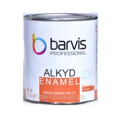 Атмосферостойкая алкидная эмаль ПФ - 115 Enamel Alkyd 50 кг по ГОСТ 6465-76