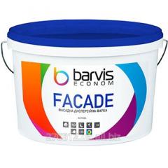 Фасадная дисперсионная краска для наружных и внутренних работ Facade Econom 10 л