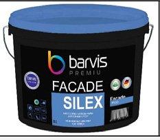 Краска фасадная силиконовая сегмента Премиум Facade Silex 10 л