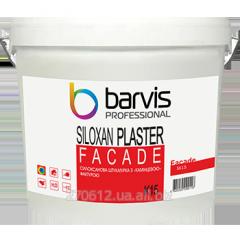 Силоксановая штукатурка с камешковой фактурой, размер зерна 1,5 мм Facade Siloxan Plaster K15 25 кг