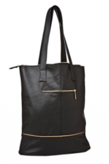 Women bag from Office bag genuine leather black