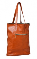 Women bag from Office bag genuine leather brown