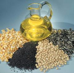 Oil-bearing crops. Mustard white, Mustard