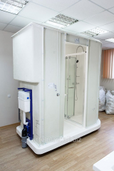 He sanitary module from fibreglass