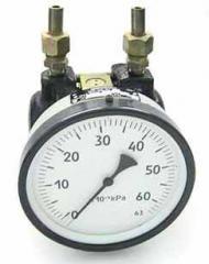 Дифманометр сильфонный показывающий ДСП 160