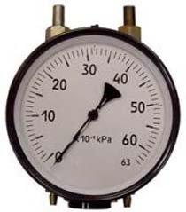 Дифманометр сильфонный показывающий, сигнализирующие ДСП-4СГ-М1