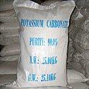 Potash, potash, potassium carbonate