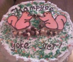Торт детский на день рождения