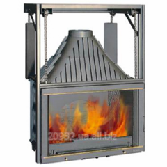 Fire chamber chimney Laudel 900 Grande Vision with