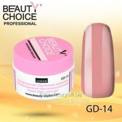 "The camouflaging gel ""Pastel-pink"