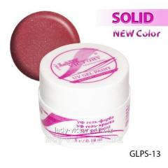 Color gel-paint with spangles for drawing on